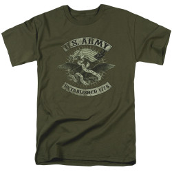 Image for U.S. Army T-Shirt - Union Eagle
