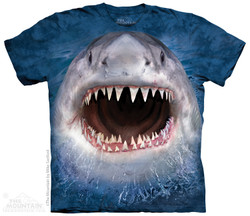 Image for The Mountain T-Shirt - Wicked Nasty Shark