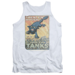 Image for U.S. Army Tank Top - Treat 'Em Rough