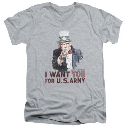 Image for U.S. Army V Neck T-Shirt - I Want You