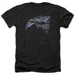 Image for U.S. Air Force Heather T-Shirt - F35