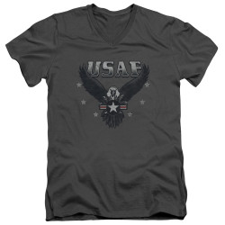 Image for U.S. Air Force V Neck T-Shirt - Incoming