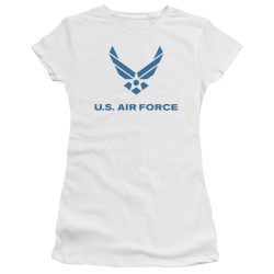 Image for U.S. Air Force Girls T-Shirt - Distressed Logo