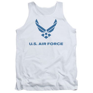 Image for U.S. Air Force Tank Top - Distressed Logo