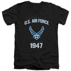 Image for U.S. Air Force V Neck T-Shirt - Property of the United States Air Force