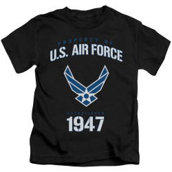 Image for U.S. Air Force Kids T-Shirt - Property of the United States Air Force