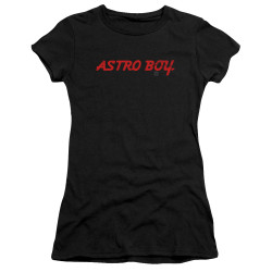 Image for Astro Boy Girls T-Shirt - Classic Logo