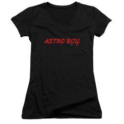 Image for Astro Boy Girls V Neck - Classic Logo