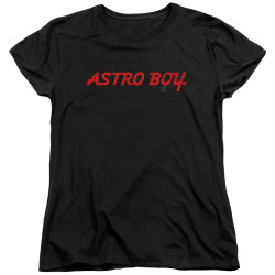 Image for Astro Boy Womans T-Shirt - Classic Logo