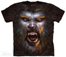Image for The Mountain T-Shirt - Werewolf Face