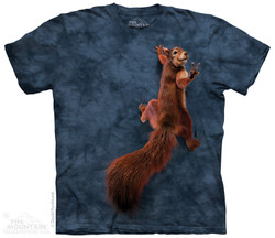 Image for The Mountain T-Shirt - Peace Squirrel