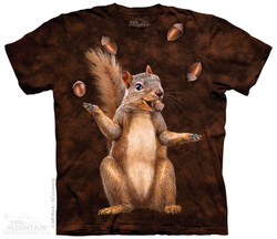 Image for The Mountain T-Shirt - Nut Juggler