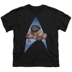 Image for Star Trek Cats Youth T-Shirt - Five Year Nap