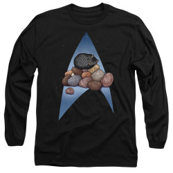 Image for Star Trek Cats Long Sleeve T-Shirt - Five Year Nap