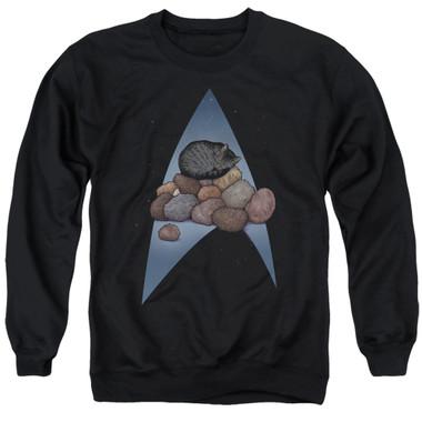 Image for Star Trek Cats Crewneck - Five Year Nap
