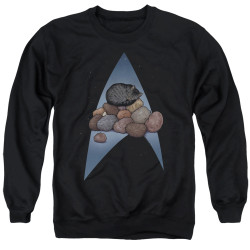 Image for Star Trek Cats Crewneck - Five Year Nap