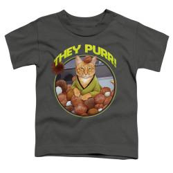 Image for Star Trek Cats Toddler T-Shirt - The Purr