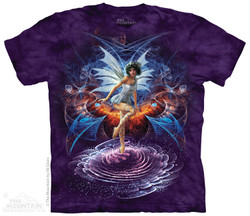 Image for The Mountain T-Shirt - Vortex Fairy