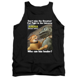 Image for Star Trek Cats Tank Top - Cat Fight