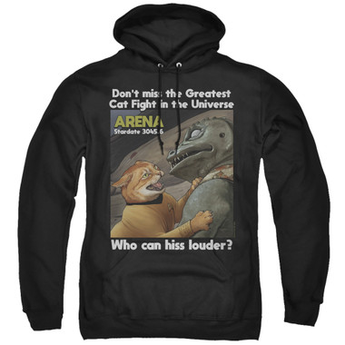 Image for Star Trek Cats Hoodie - Cat Fight