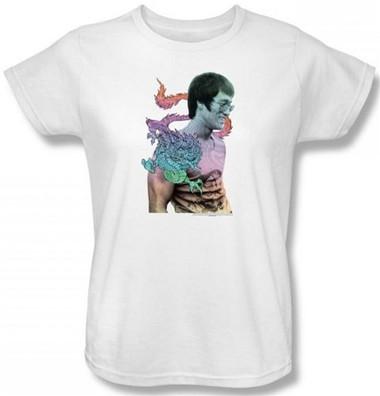 Image for Bruce Lee Womans T-Shirt - A Little Bruce