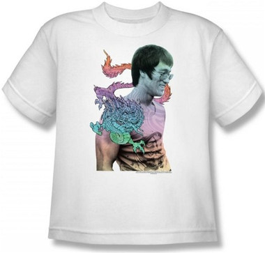 Image for Bruce Lee Youth T-Shirt - A Little Bruce