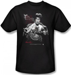 Image Closeup for Bruce Lee T-Shirt - The Dragon