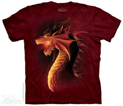 Image for The Mountain T-Shirt - Red Dragon