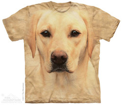 Image for The Mountain T-Shirt - Yellow Lab Portrait
