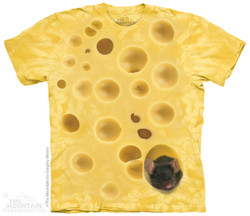 The Mountain T-Shirt - Swiss Cheese Mouse