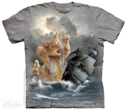 Image for The Mountain T-Shirt - Krakitten