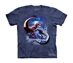 Image for The Mountain Youth T-Shirt - Fighting Rexes