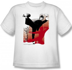 Image for Bruce Lee Youth T-Shirt - Kick It!