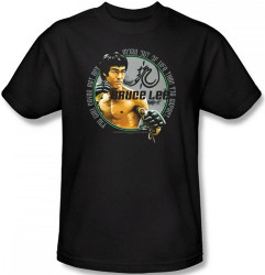 Image Closeup for Bruce Lee T-Shirt - Expectations