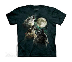 Image for The Mountain Youth T-Shirt - Three Wolf Moon