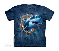 Image for The Mountain Youth T-Shirt - Shark Attack
