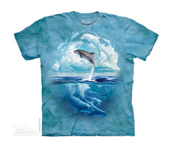 Image for The Mountain Youth T-Shirt - Dolphin Sky