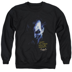 Image for Batman Crewneck - Arkham Joker