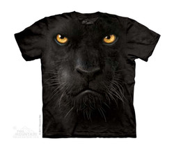 Image for The Mountain Youth T-Shirt - Black Panther Face