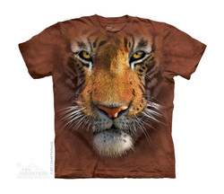 Image for The Mountain Youth T-Shirt - Tiger Face