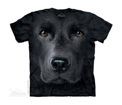 Image for The Mountain Youth T-Shirt - Black Lab Face
