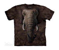 Image for The Mountain Youth T-Shirt - Elephant Face