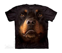 Image for The Mountain Youth T-Shirt - Rottweiler Face
