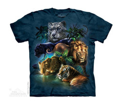 Image for The Mountain Youth T-Shirt - Big Cats Jungle