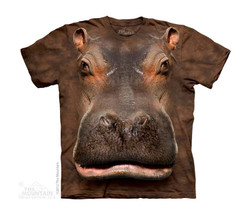 Image for The Mountain Youth T-Shirt - Hippo Head
