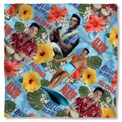 Image for Elvis Bandana - Blue Hawaii
