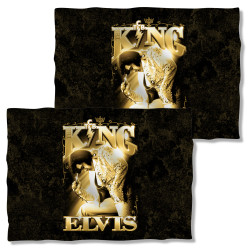 Image Closeup for Elvis Pillow Case - the King