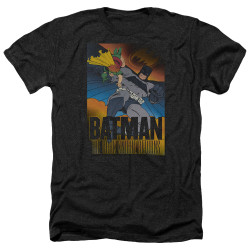 Image for Batman Heather T-Shirt - DK Returns