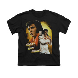 Image for Elvis Youth T-Shirt - Aloha