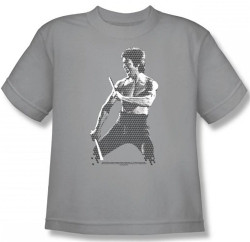 Image for Bruce Lee Youth T-Shirt - Chinese Characters